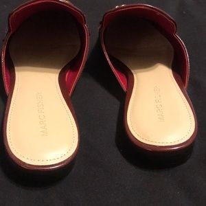 Marc Fisher Shoes - Marc Fisher mules with chain detail size 7.5